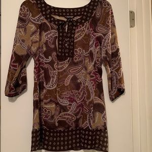 Tunic. Washed once, never worn.